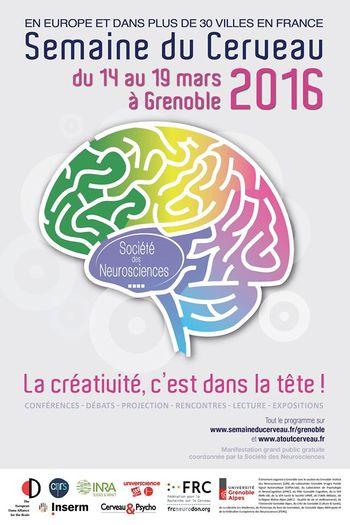 Affiche semaine du cerveau
